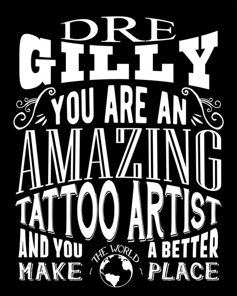 Amazing Tattoo Artist Custom Plaque Metal Sign For Men Or Women Gift