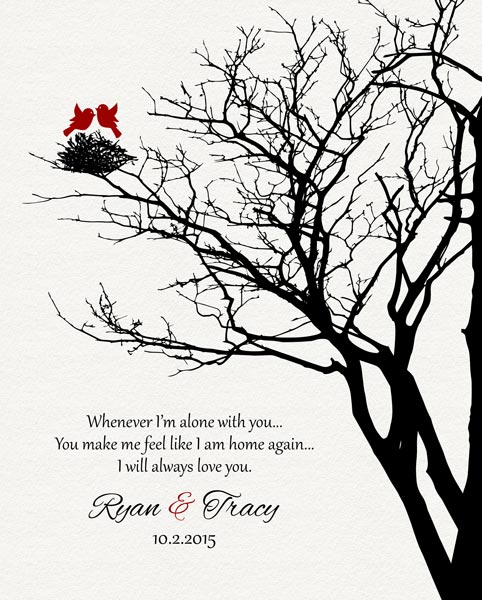 Second Year Family Wedding Tree Garnet Poetry